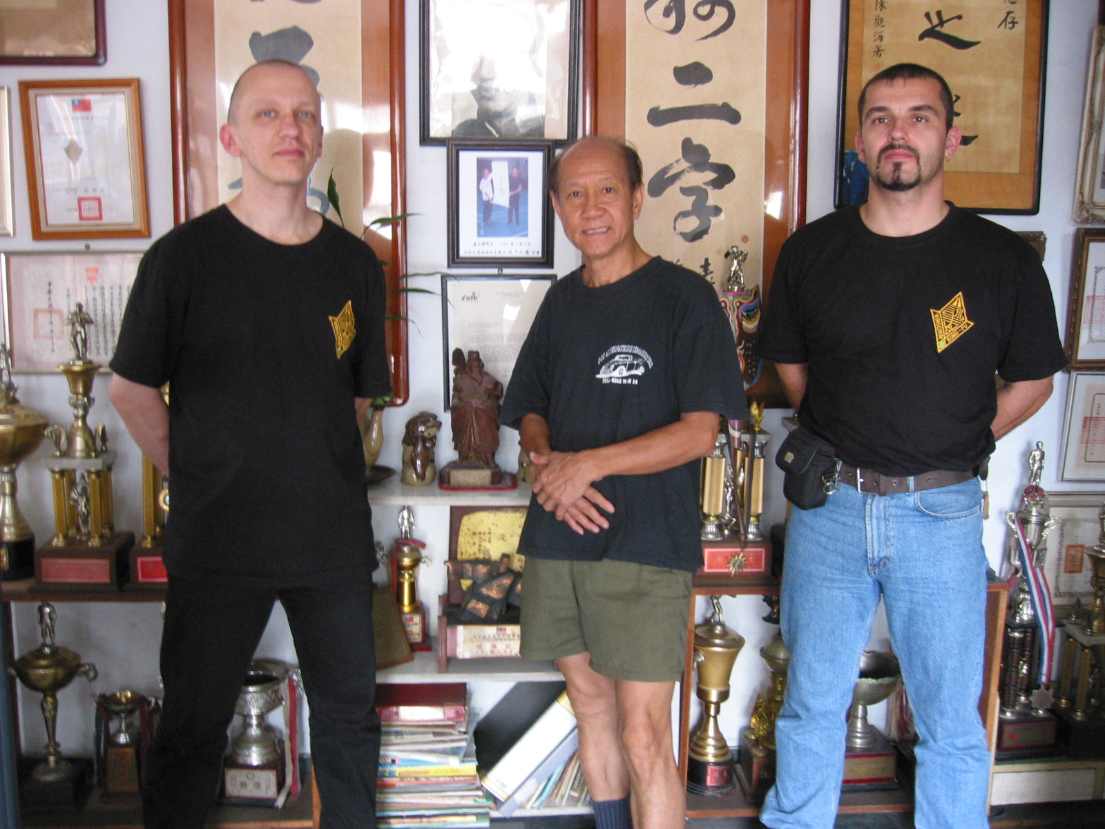 Andreas Zerndt, Lo Man Kam and Marc Debus in Taipeh